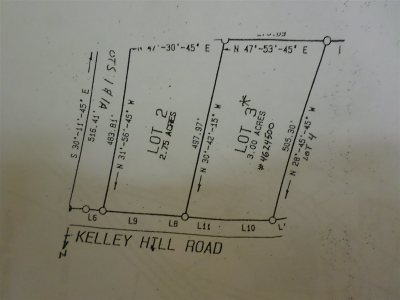 Danby Residential Lots & Land For Sale: Kelly Hill #Lot # 3