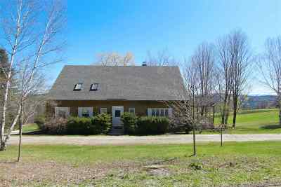 Caledonia County Single Family Home For Sale: 440 Mack's Mountain Road