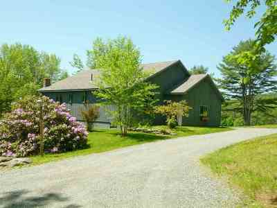 Sugar Hill Single Family Home Active Under Contract: 253 Center District Road