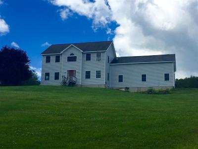 Pawlet Single Family Home For Sale: 3787 Vermont Route 133