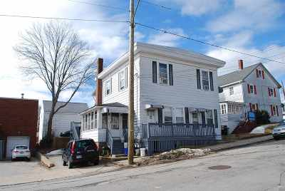 Somersworth Multi Family Home For Sale: 14-16 Franklin Street