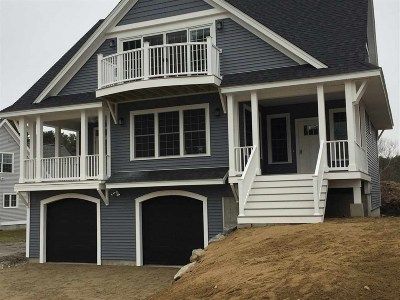 Kittery Single Family Home Active Under Contract: Lot 1 Cottage Way #1