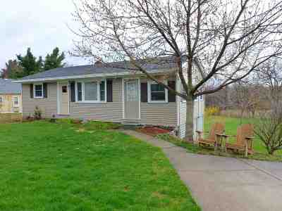Rutland City VT Single Family Home For Sale: $112,500