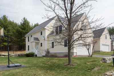 Hudson Single Family Home Active Under Contract: 66 Barbara Lane #66