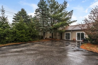 Belknap County, Carroll County, Cheshire County, Coos County, Grafton County, Hillsborough County, Merrimack County, Rockingham County, Strafford County, Sullivan County Single Family Home For Sale: 161 Marsh Road
