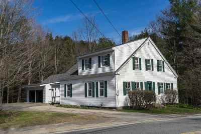 Single Family Home Closed: 1181 Nh Route 175