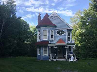 Chittenden Single Family Home For Sale: 204 Middle Road