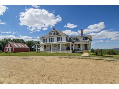 Strafford Single Family Home For Sale: 23 Evans Mt. Rd
