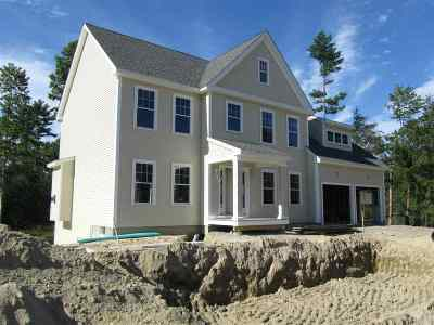 Merrimack Single Family Home Active Under Contract: 3 Windy Hollow Circle