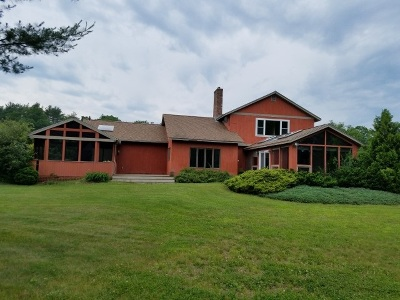Belknap County, Carroll County, Cheshire County, Coos County, Grafton County, Hillsborough County, Merrimack County, Rockingham County, Strafford County, Sullivan County Single Family Home For Sale: 77 West Surry Road