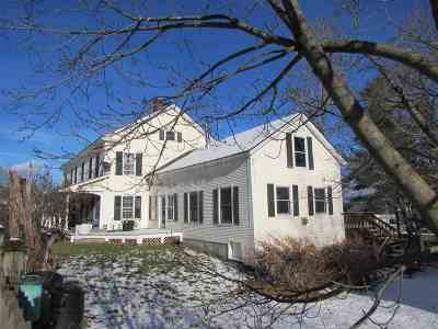 Whiting Single Family Home For Sale: 3 So. Main Street