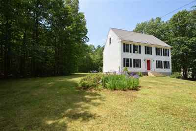 Goffstown Single Family Home Active Under Contract: 50 Sage Court