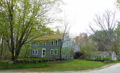 Francestown Single Family Home For Sale: 598 Red House Road