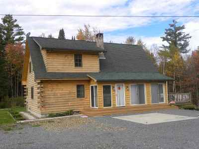 Caledonia County Single Family Home For Sale: 1988 Hudson Road