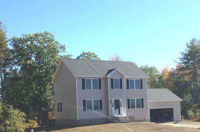 Weare Single Family Home Active Under Contract: Lot 77-7 Hilbren Road