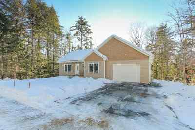 Moultonborough Single Family Home Active Under Contract: 36 Ray's Way