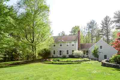 Amherst Single Family Home For Sale: 89 Christian Hill Road
