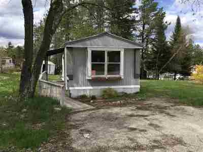 Carroll County Mobile/Manufactured For Sale: 22 Joshua Road Road #64