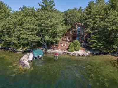 Wolfeboro Single Family Home For Sale: 64 Parker Island Road