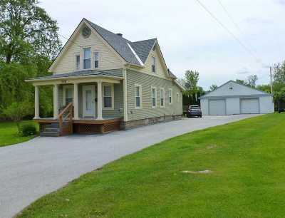 Rutland City VT Single Family Home For Sale: $136,500