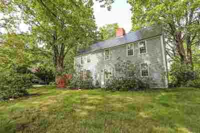 Weare Single Family Home For Sale: 191 Quaker Street