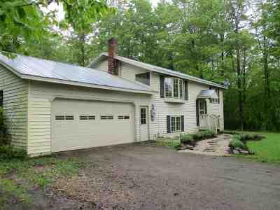 Wheelock Single Family Home For Sale: 520 Allard Hill