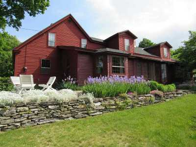 Brandon Single Family Home For Sale: 927 Hollow Road