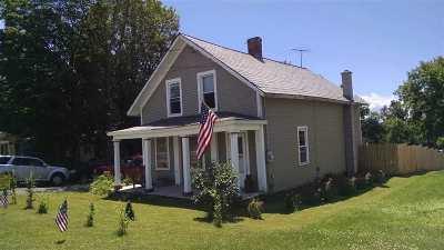 Castleton Single Family Home For Sale: 2191 Main Street