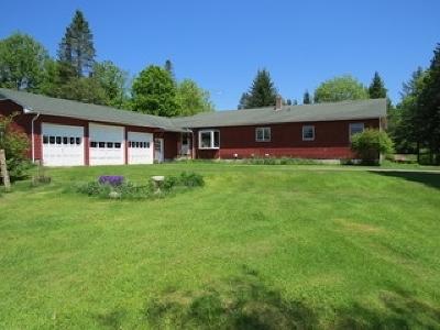 Sheffield Single Family Home For Sale: 281 Oregon Brook Road