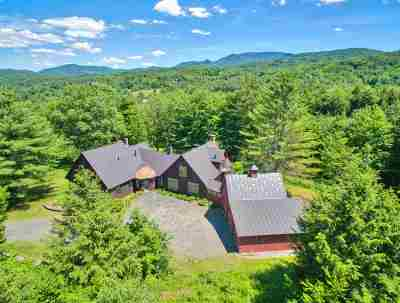 Stowe Single Family Home For Sale: 149 Rudy's Lane