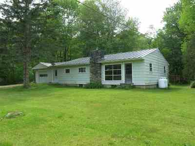 Fairlee Single Family Home For Sale: 2664 Vt Route 244