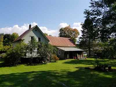 Wells River Single Family Home Active Under Contract: 109 Main St. North