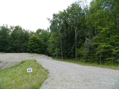 Underhill Residential Lots & Land For Sale: 109 Pleasant Valley Road #3