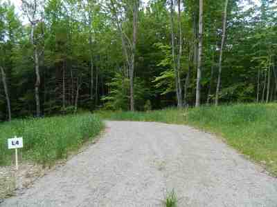 Underhill Residential Lots & Land For Sale: 109 Pleasant Valley Road #4