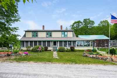 Meredith Single Family Home For Sale: 419 Nh Route 104 Route