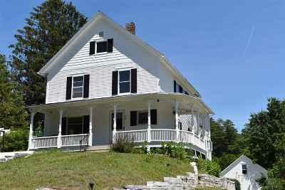 Rutland Town Single Family Home For Sale: 92 E. Proctor Rd.