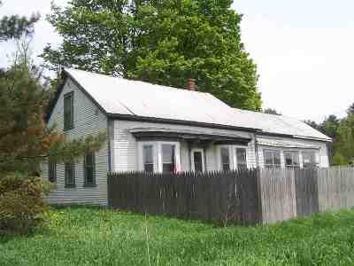Johnson Single Family Home For Sale: 190 Rte 15 East