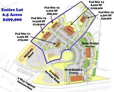 Gilford Residential Lots & Land For Sale: 22 Sawmill Road #Pad Site