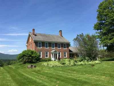 Johnson Single Family Home For Sale: 66 Parker Road
