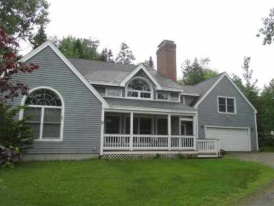 Waterville Valley Single Family Home For Sale: 16 Noon Peak Road