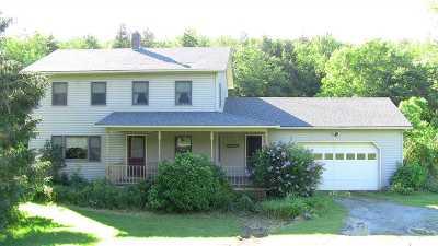 Enosburg Single Family Home For Sale: 5293 Tyler Branch Road
