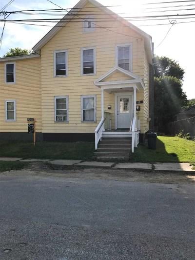 Rutland, Rutland City Multi Family Home For Sale: 75 Harrison Avenue
