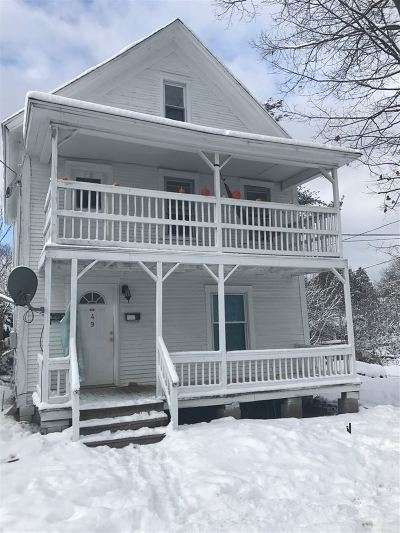 Rutland, Rutland City Multi Family Home For Sale: 49 Forest Street