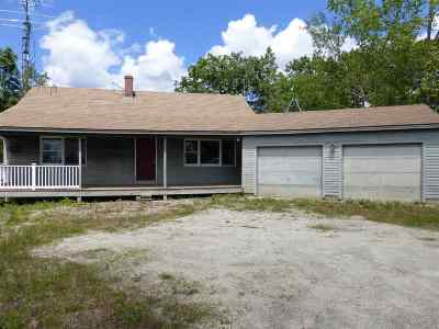 Pembroke Single Family Home Active Under Contract: 885 Plausawa Hill Road