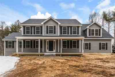 New Boston Single Family Home Active Under Contract: 53 Gregg Mill Rd