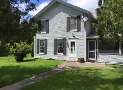 Pittsford Single Family Home For Sale: 3758 U.s. Route 7