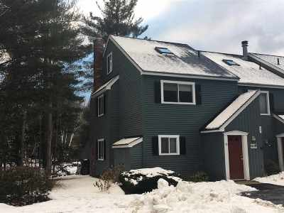 Woodstock NH Condo/Townhouse Active Under Contract: $189,900
