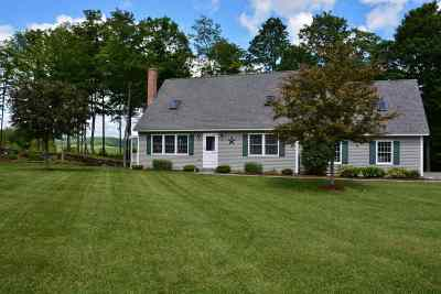 Hartland Single Family Home Active Under Contract: 55 Webster Road