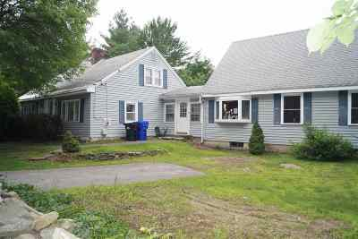 Hudson Single Family Home For Sale: 50 Kimball Hill Road