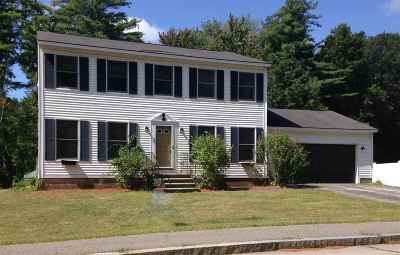 Concord Single Family Home For Sale: 1 Styles Drive